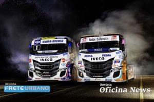 Na Europa caminhões Iveco S-Way R estão prontos para acelerar