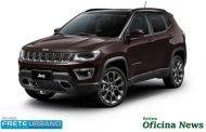 Jeep Compass regista o recorde de 200 mil unidades comercializadas