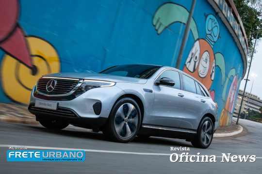 Mercedes-Benz apresenta EQC 400 como primeiro veículo elétrico no Brasil