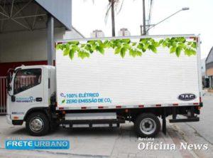 Jac Motors destaca veículos elétricos para o transportador