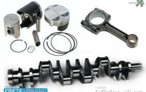 Principais componentes do motor de combustão interna