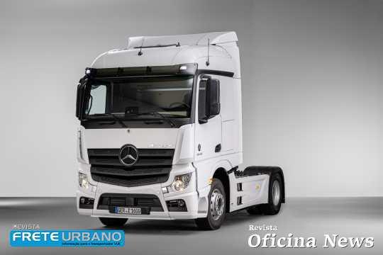 Cabina do Novo Actros brasileira é adotada no caminhão europeu