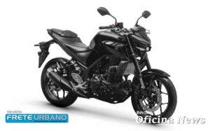 Motocicleta Yamaha MT-03 chega em versão mais agressiva