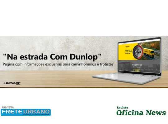 Dunlop estreia plataforma digital para motoristas e frotistas