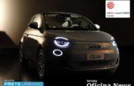Novo Fiat 500 elétrico conquista prêmio de design na Europa