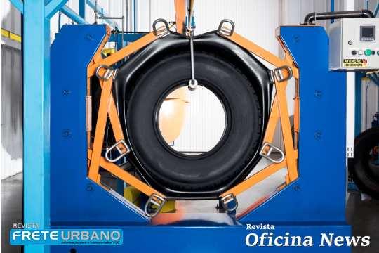 Vipal Borrachas mostra novo envelope para reforma de pneus