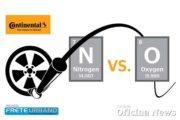 Continental Pneus fala sobre nitrogênio como opção para calibragem