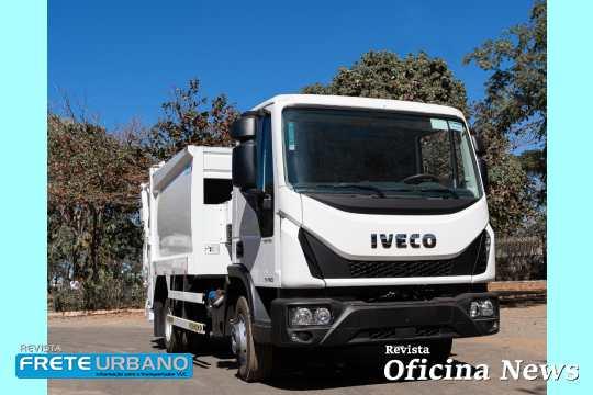 Iveco Tector compactador de resíduos reforça projetos sociais