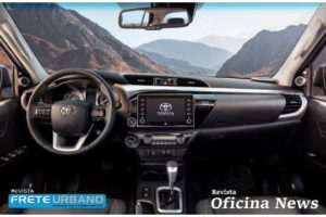Toyota Nova Hilux 2021 é apresentada com novo design e recursos