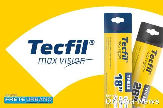 Tecfil Max Vision é a nova linha de palhetas de para-brisa da marca