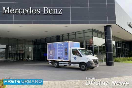 Van Center da Mercedes-Benz abre primeira loja no Nordeste