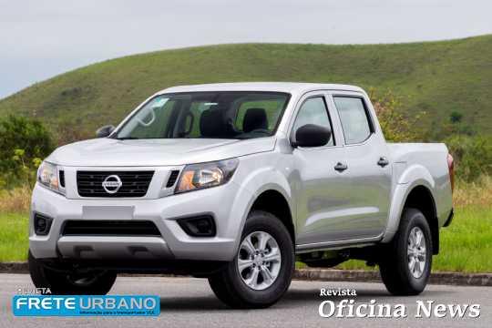 Nissan Frontier S com motor diesel 2.3l de 160 cv
