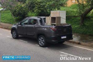 Nova Fiat Strada Volcano