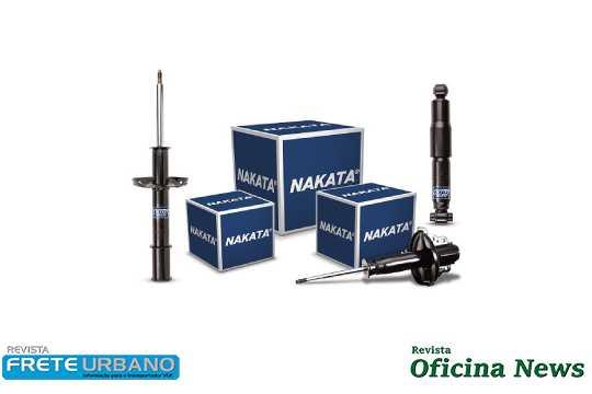 Nakata apresenta novos amortecedores para cinco montadoras