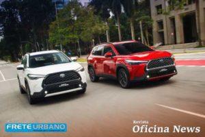 Toyota Corolla Cross chega em versão flex e híbrida