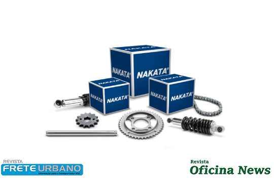 Nakata lança kits de transmissão para motocicletas Honda e Yamaha