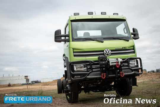 VW Delivery com tração 4x4: para todos os terrenos