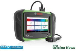Scanner Bosch KTS 250 fornece novas funções em tempo real