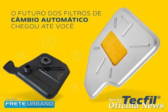 Tecfil apresenta gama de filtros para câmbio automático