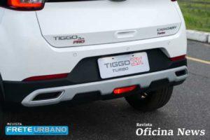 Caoa Chery Tiggo 3x Turbo usa motor 1.0 Turbo Flex e câmbio CVT