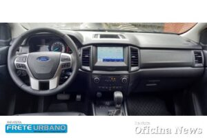 Ford Ranger Black: imponente e conectada