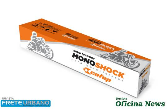 Amortecedores Cofap para motocicletas ganham novas embalagens