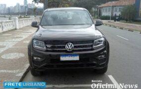 VW Amarok V6: 258 cv com arrancada de automóvel