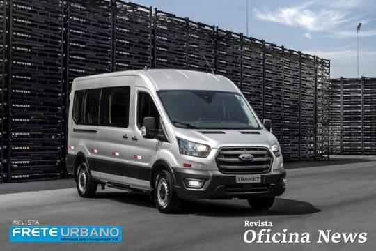 Ford Transit marca a retomada dos veículos comerciais no Brasil